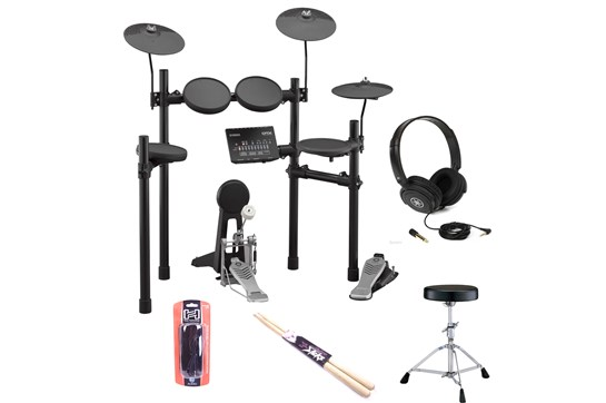 Yamaha DTX452K Electronic Drum Kit Bundle