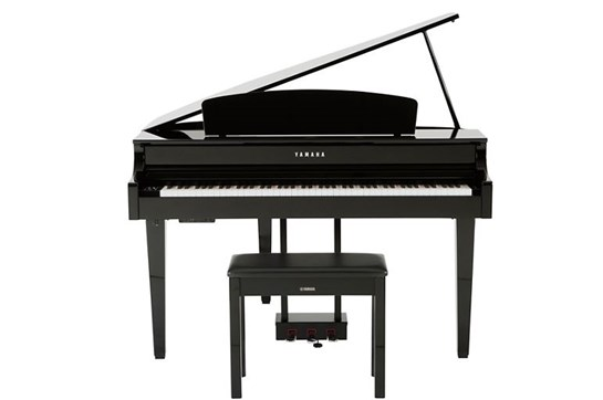 Yamaha CLP665GP Digital Grand Piano (Polished Ebony)