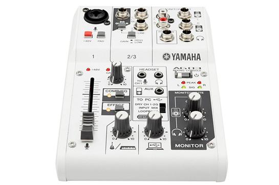 Yamaha AG03 3 Channel USB Mixer