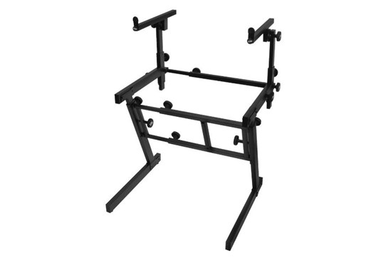On-Stage Pro Folding-Z Keyboard Stand w/ 2nd Tier