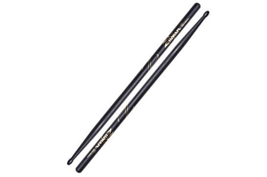 Zildjian 5A Hickory Nylon Tip Sticks (Black)