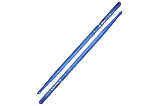 Zildjian 5A Hickory Nylon Tip Sticks (Blue)