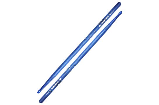 Zildjian 5A Hickory Nylon Tip Sticks - Blue