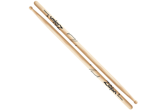 Zildjian 7A Hickory Wood Tip Sticks