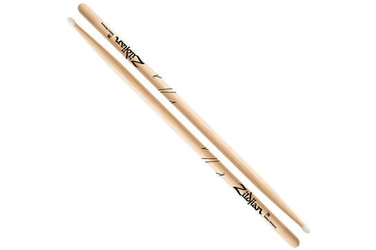 Zildjian 7A Hickory Nylon Tip Sticks