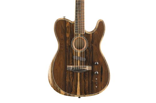 Fender American Acoustasonic Telecaster (Exotic Ziricote)