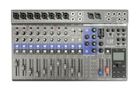Zoom LiveTrak L12 Digital Recording Mixer