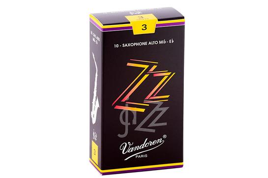 Vandoren Jazz ZZ Alto Sax Reeds Strength 3