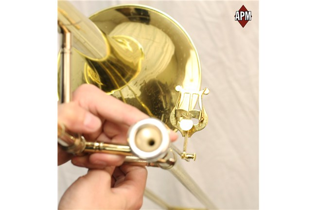 APM 514 514G 2 Piece trombone marching lyre