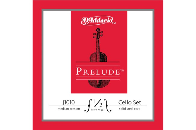 D'addario J1010M 1/2 Size Student Cello String Set