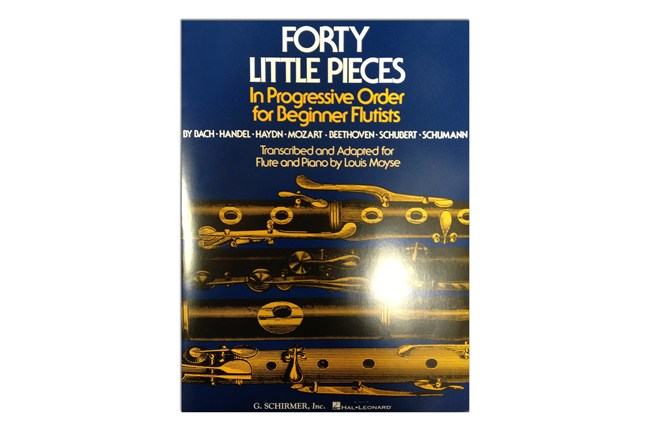 Forty Little Pieces for Flute and Piano