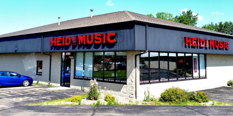 Our Wisconsin Store Locations | Heid Music