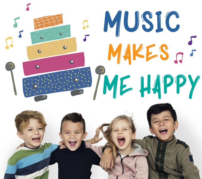 Music Makes Me Happy with Kids