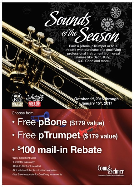 Conn-Selmer Sounds of the Season - General Events - Events | Heid Music