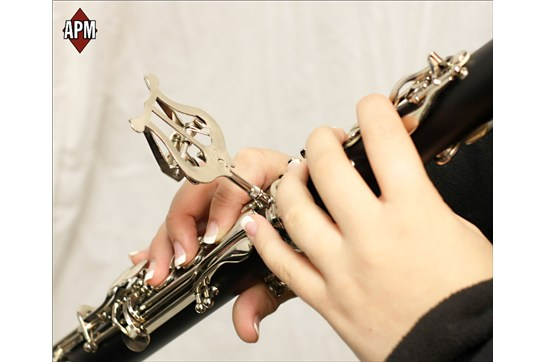 APM 506N Clarinet Lyre (Nickel)