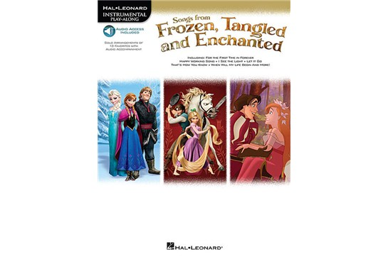 Songs from Frozen, Tangled and Enchanted Play-Along