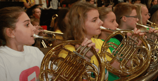 freedom middle school band